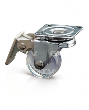 Furniture castors (transparent) 35 mm